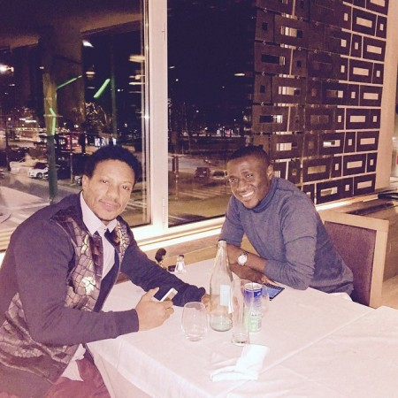 Mohamed Kallon, Rodney Strasser reunite in Milan-46_n