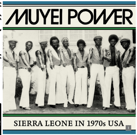 Muyei Power Sierra Leone in the 1970s USA
