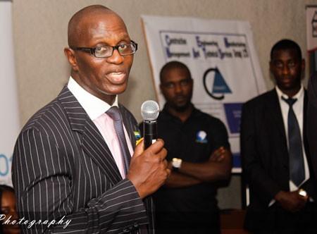 National Ebola Response Boss-Palo-Conteh-Radisson Blu-NGO-Business-Trade Fair