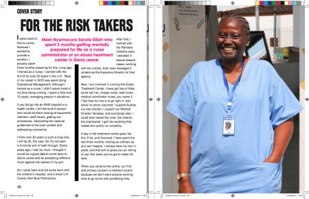 Nyamacoro Sarata Sillah-Ebola-nurse-GoWomanMagazine