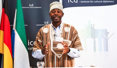 Peter Bayuku Konteh  Photo Credit: Sierra Leone Embassy Germany
