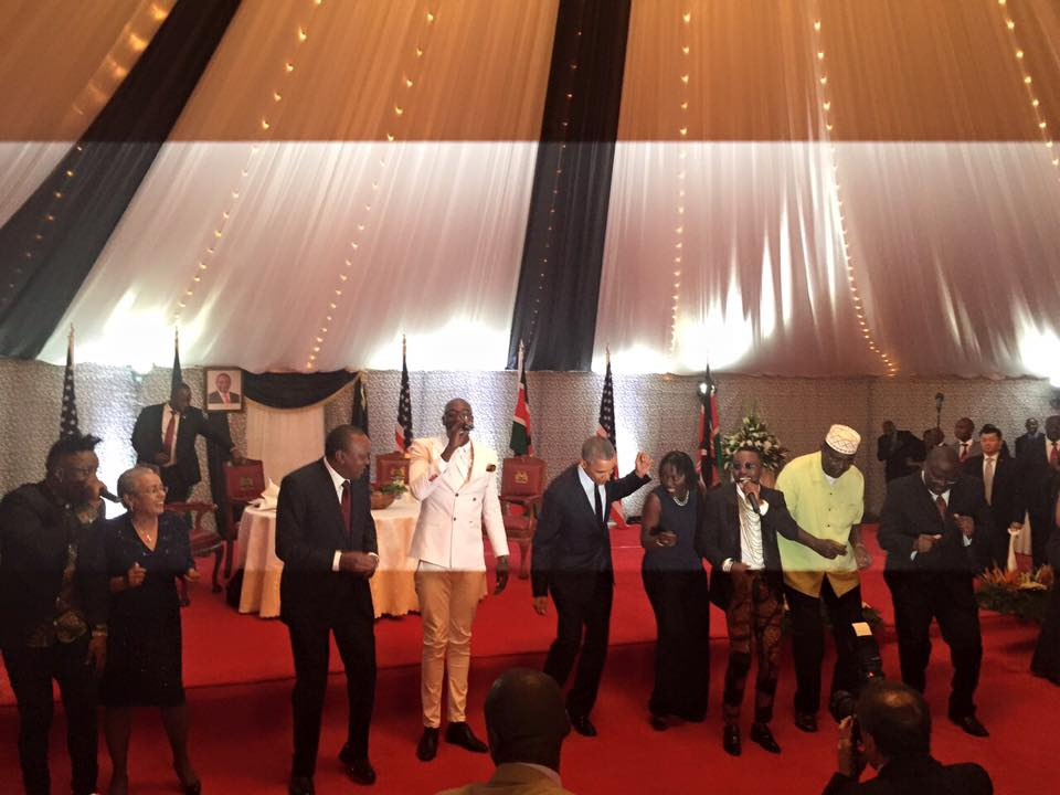 Watch President Obama dance to Afro beat in Kenya #Lipala (Video