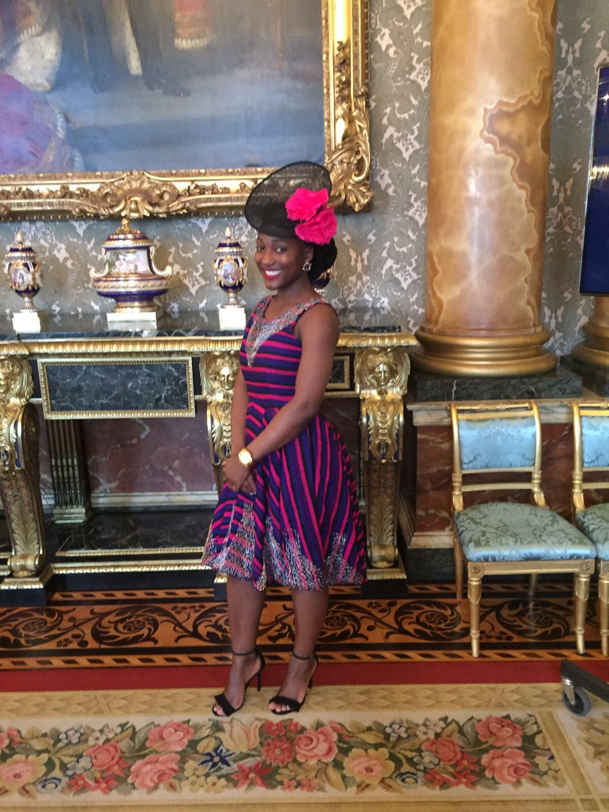 Kumba Musa in Madame Wokie