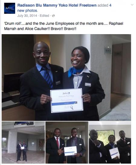 Radisson Blu Freetown Facebook 1