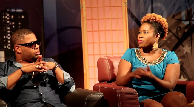 Lydia Forson and D Black