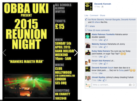 OBBA UK & Ireland Reunion April 5 2015 in London