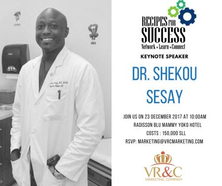 ShekouSesay-Dr-Keynote-SierraLeone-RecipesforSuccessV