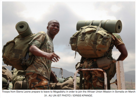 Sierra Leone AMISOM