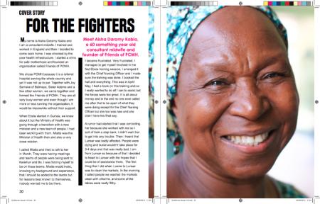 Sierra Leone Ebola-Aisha Isata Daramy Kabia-GoWoman Magazine