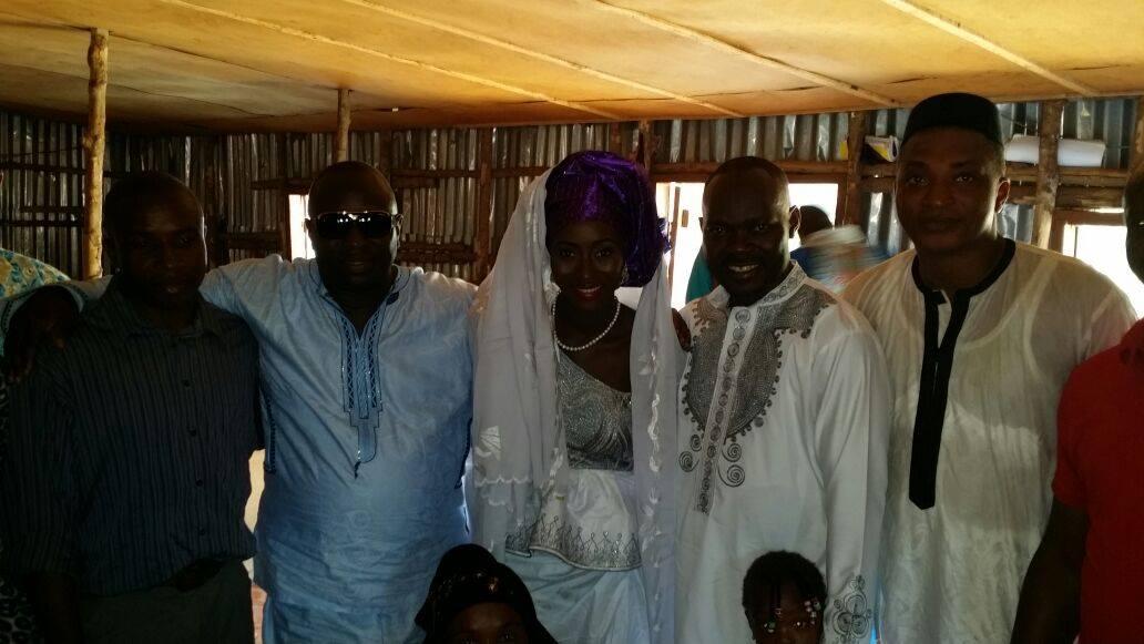 Sierra Leone Weddings-Model Designer Kadiatu of Vivid Emporium Traditional Wedding1