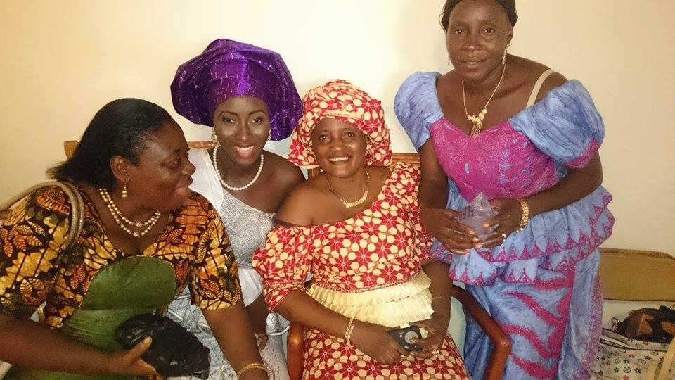 Sierra Leone Weddings-Model Designer Kadiatu of Vivid Emporium Traditional Wedding10