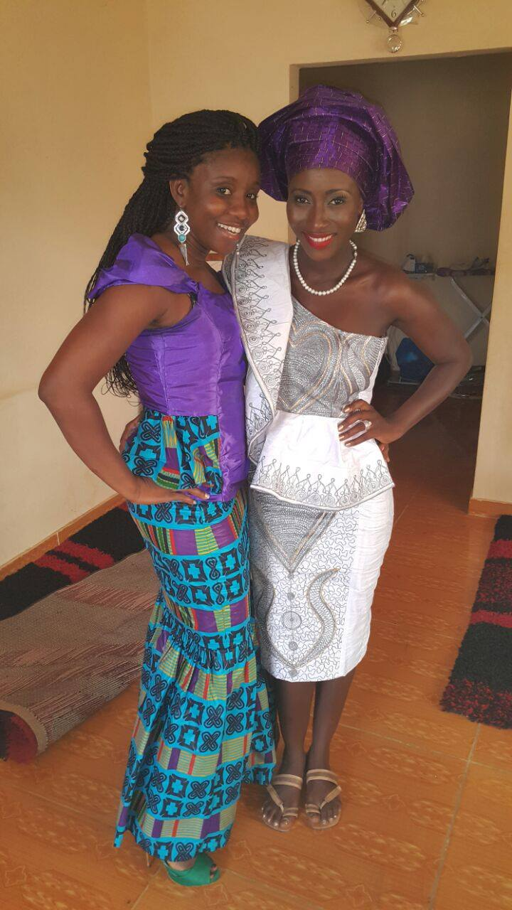 Sierra Leone Weddings-Model Designer Kadiatu of Vivid Emporium Traditional Wedding11