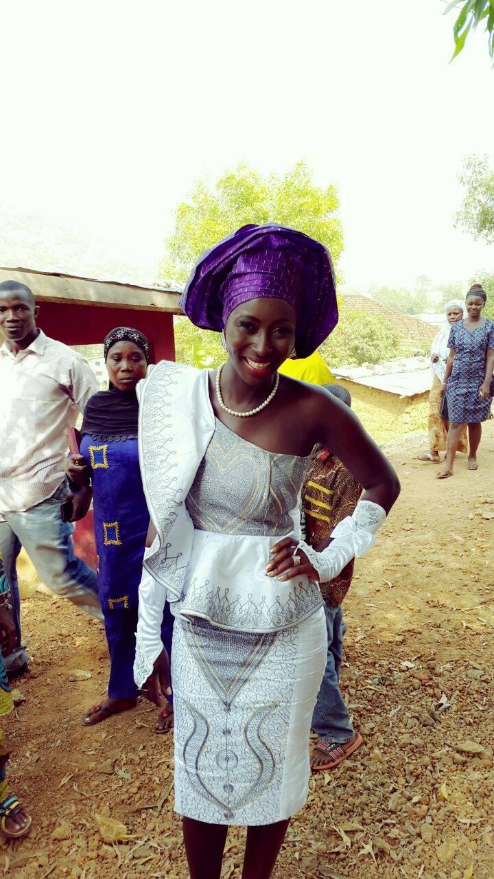 Sierra Leone Weddings-Model Designer Kadiatu of Vivid Emporium Traditional Wedding13