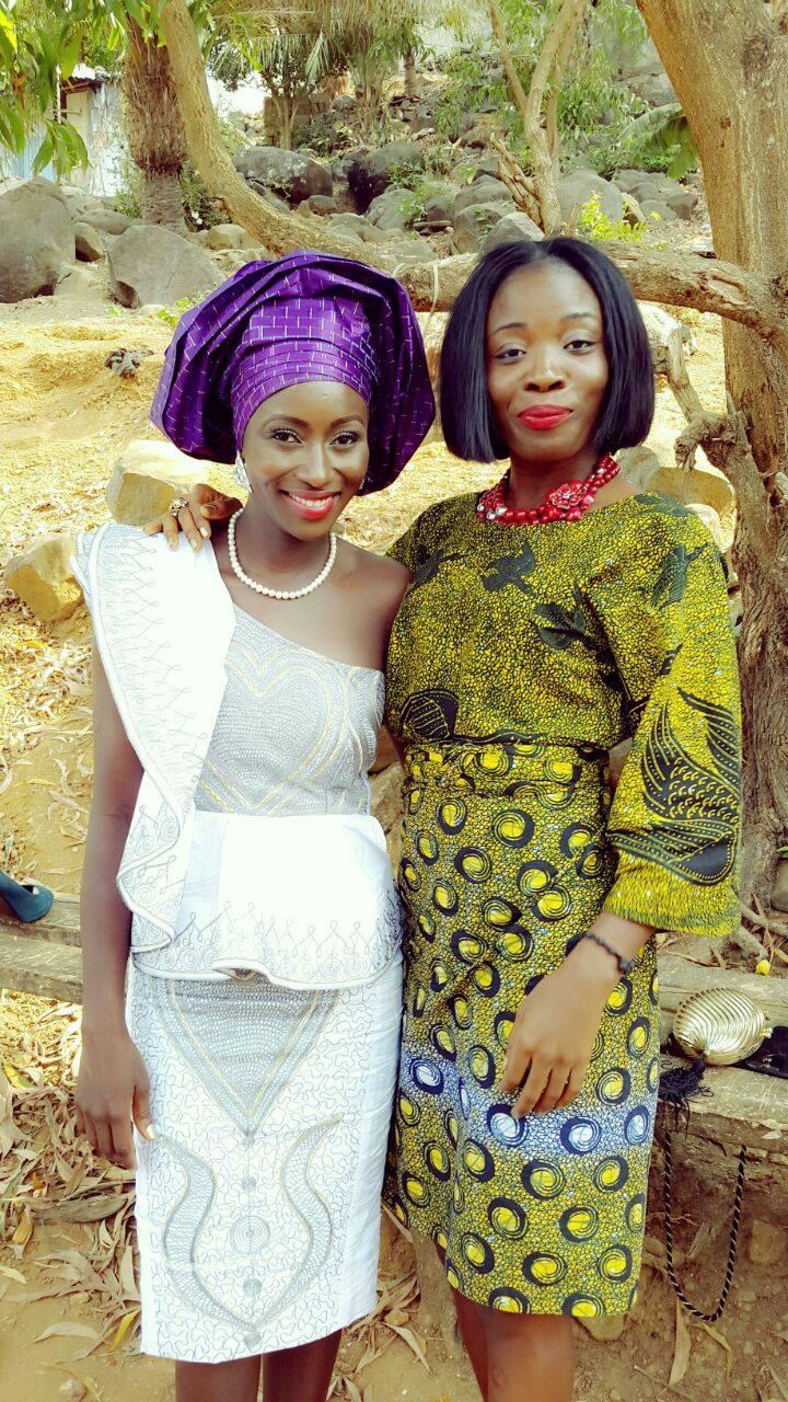 Sierra Leone Weddings-Model Designer Kadiatu of Vivid Emporium Traditional Wedding16