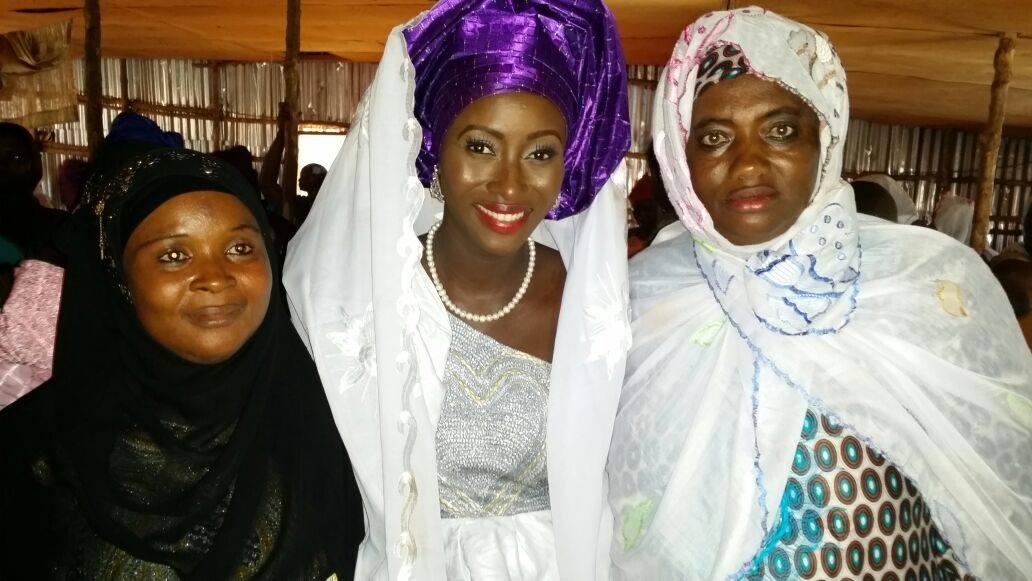 Sierra Leone Weddings-Model Designer Kadiatu of Vivid Emporium Traditional Wedding18