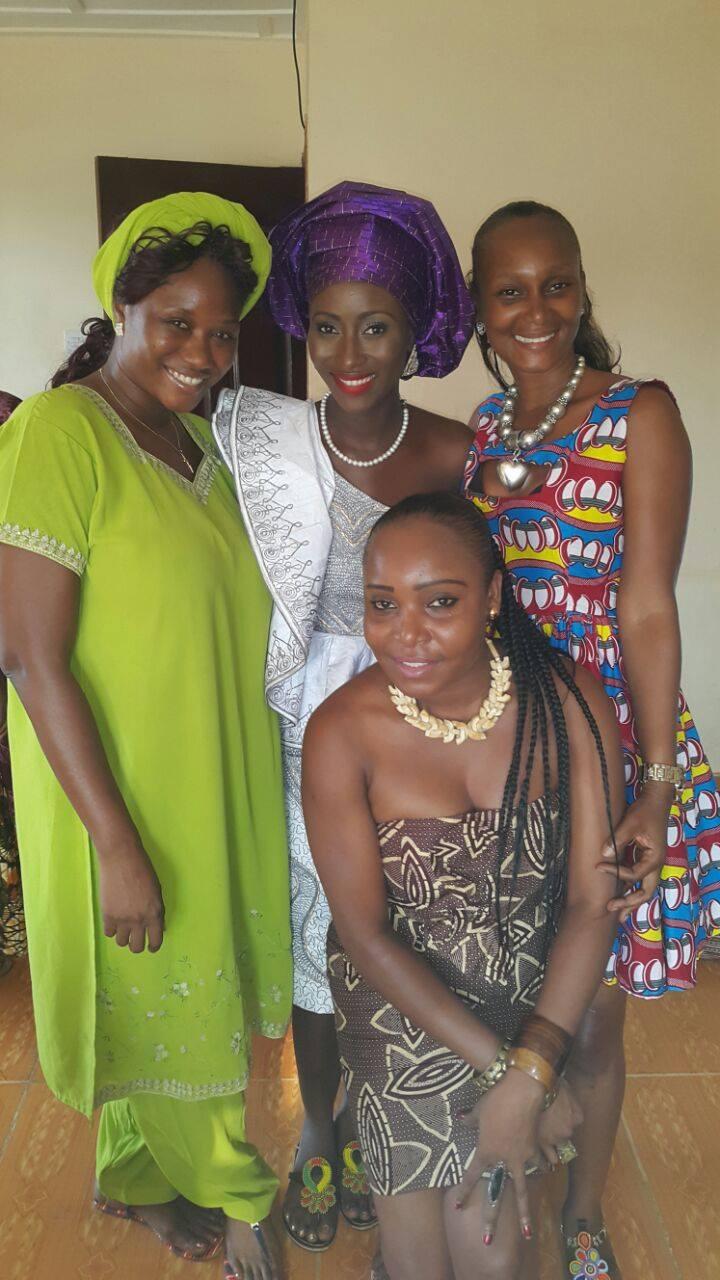 Sierra Leone Weddings-Model Designer Kadiatu of Vivid Emporium Traditional Wedding19