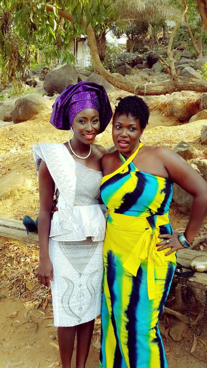 Sierra Leone Weddings-Model Designer Kadiatu of Vivid Emporium Traditional Wedding21