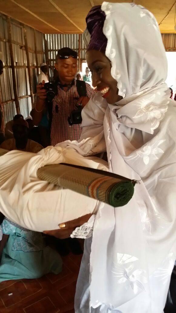 Sierra Leone Weddings-Model Designer Kadiatu of Vivid Emporium Traditional Wedding5