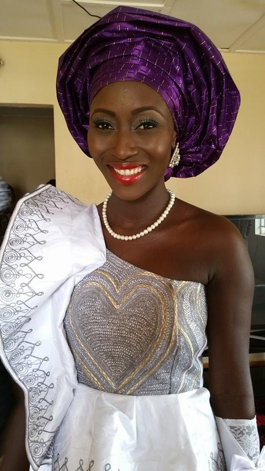 Sierra Leone Weddings-Model Designer Kadiatu of Vivid Emporium Traditional Wedding7
