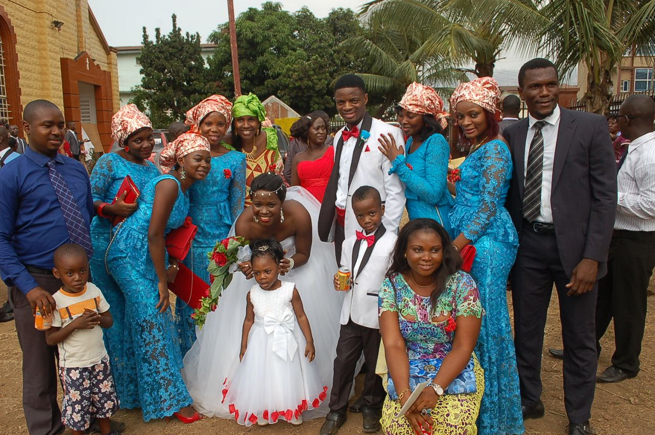 Sierra Leone Weddings Momodu and Beatrice2
