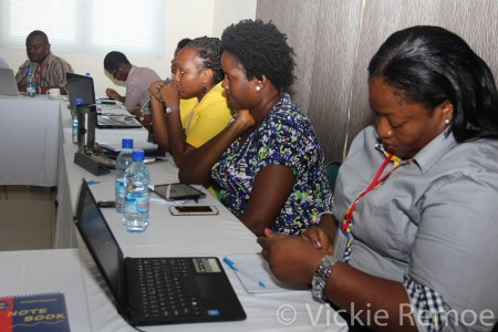 Social Media Marketing - Sierra Leone- Training - Vickie Remoe21