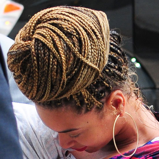 Astounding Hair Style Trend Braids Cornrows Make Come Back With Beyonce Short Hairstyles For Black Women Fulllsitofus