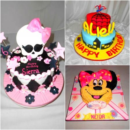 SugarCraft Birthday Cakes