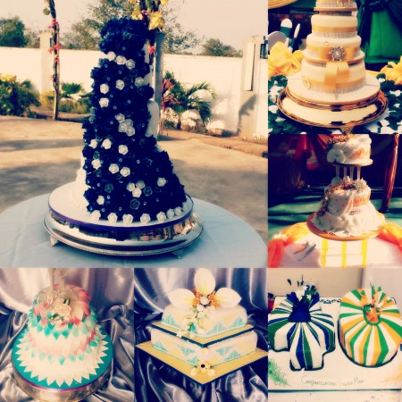 Sugar Craft Wedding Cakes