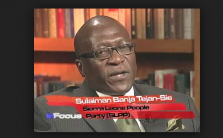 Sulaiman Banja Tejan Sie, Secretary General of the Sierra Leone People's Party
