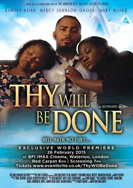 Thy WIll Be Done Movies Poster