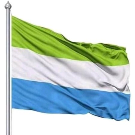 National Flag of Sierra Leone