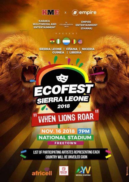 ecofest music festival sierra leone