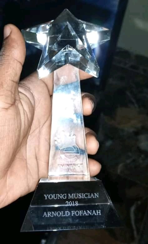 Arnold K Fofana wins Young Musician of the year 2018 | Sierra Leone News