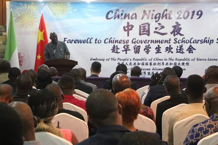 Image result for 116 students in Sierra Leone awarded Chinese government scholarship