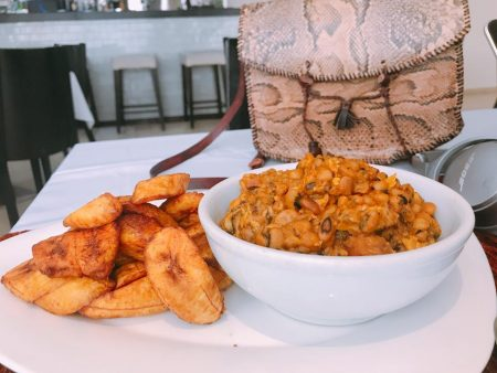Beans + Plantains at New Brookfields Hotel