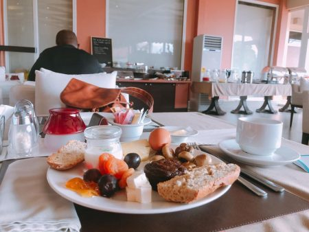 Breakfast at Home Suites Hotel